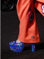 2017SSMoschino女鞋单鞋发布会