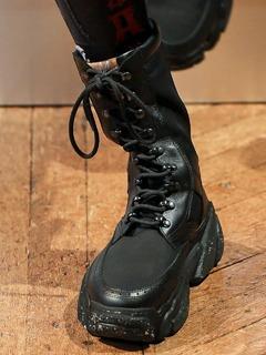 20/21秋冬Vivienne Westwood女鞋靴子T台